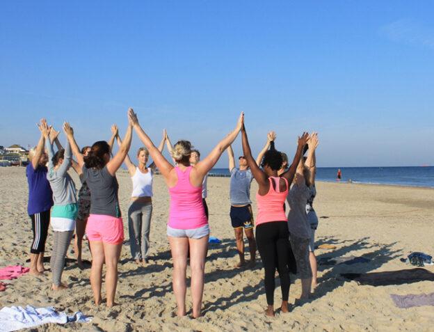 Yoga midweek aan zee3